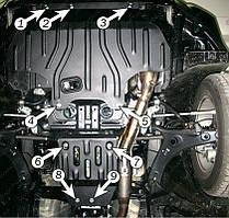 Защита двигателя Subaru Forester (2008-2013) 2.0 / 2.5 Полигон-Авто
