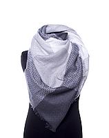 Модный шарф-палантин bruno rossi grey-black