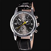 Стильные мужские часы Sloggi с черным циферблатом