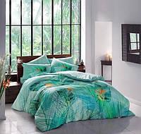Двуспальное евро постельное белье TAC Bahama Бамбук