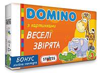 """Домино Strateg """"Веселі звірята"""""""