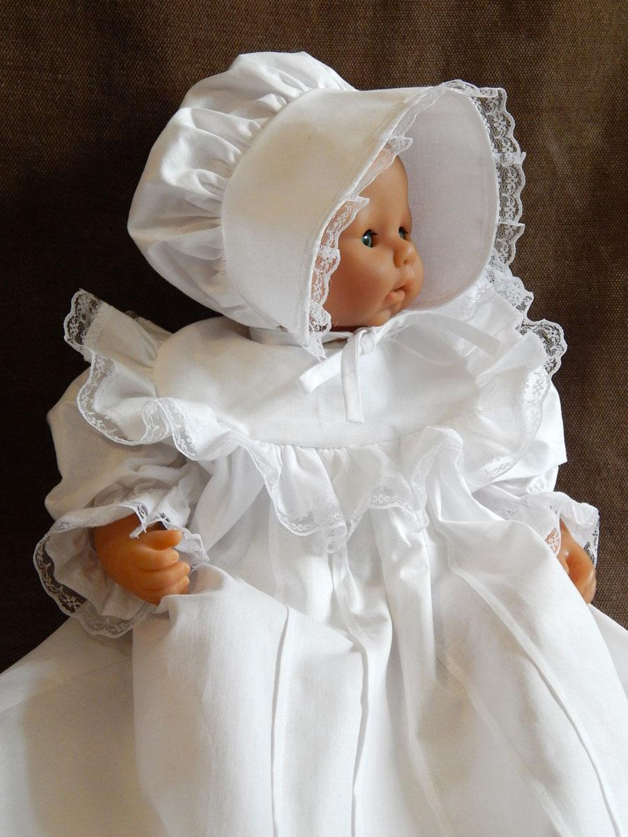 Набір для хрещення з фланелі. Модель Princess 2