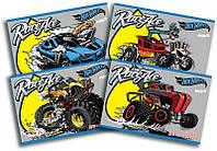 Альбом для рисования Kite Hot Wheels, 24 листа