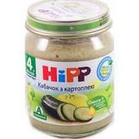 """4022 HIPP Овочеве пюре """"Кабачок з картоплею"""" 125"""