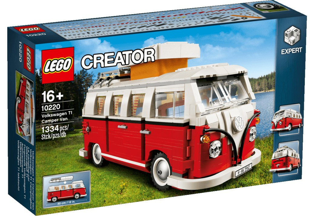 LEGO Volkswagen T1 Фургон-Кемпер (10220), фото 1