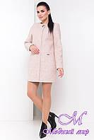 Модное женское демисезонное пальто (р. S, M, L) арт. Дакс шерсть №9 - 9501