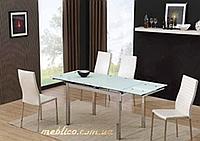 Стол стеклянный раскладной AF1010DT 2м
