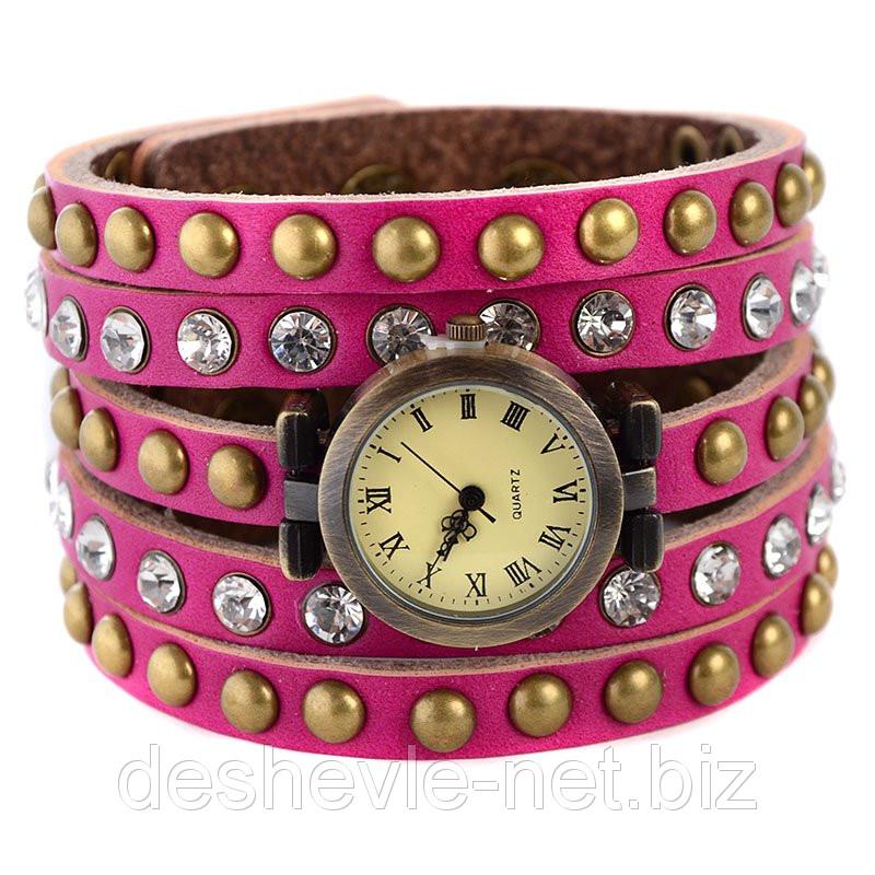 Часы брендовые женские cl-008pink