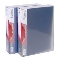 Дисплей-книга Axent, 100 файлов, в пластиковом боксе, черная