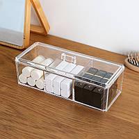 Органайзер для хранения ватных дисков и палочек, фото 1