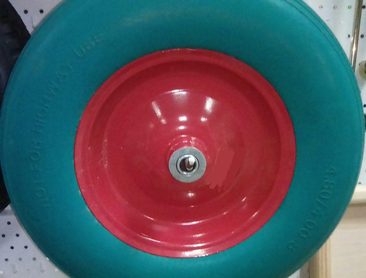 Колесо к тачке полиуретановое 4.80/4.00-8 (395/96мм)