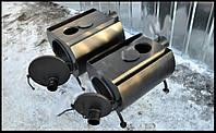 Печь отопительная дровяная ПД-110 10 кВт (с варочным отверстием)