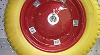 Колесо к тачке полиуретановое 3.00-8 (345/65мм) Fortune