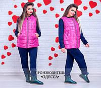 Женская куртка (48-50, 50-52, 52-54, 54-56) — Синтепон 100 купить оптом и в розницу в одессе  7км