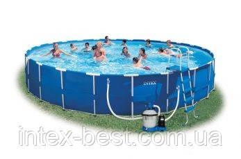 Каркасный бассейн Intex 54950 (732х132 см.), фото 2