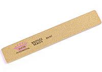 Пилка для ногтей Master Professional 80/80 Bronze Series, прямоугольник