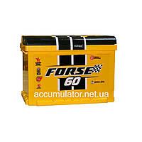 Аккумулятор автомобильный FORSE 6СТ 60Ah 600A АЗ