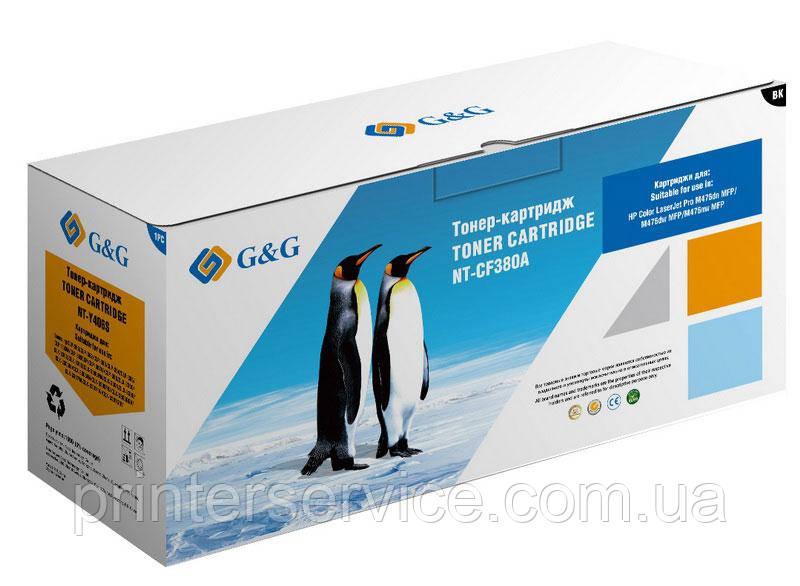 Картридж аналог HP CF380A Black для HP M476 (G&G NT-CF380A)