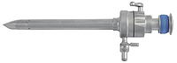 Троакар с механическим  клапаном пирамидальным стилетом