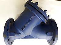 Фильтр осадочный Распродажа. DN125 Чугунный Фланцевый Сетчатый, фото 1