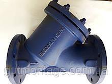 Фильтр осадочный Распродажа. DN125 Чугунный Фланцевый Сетчатый