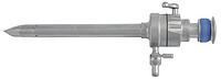 Троакар с механическим  клапаном атравматичным стилетом