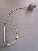 Верстатний світлодіодний світильник SVS 4,2 Вт для місцевого освітлення з подовженим гофрованим тримачем