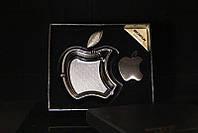 Набор с пепельницей Apple черный