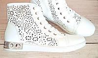 Женские модные ботинки с перфорацией, 37, 41 размер