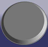 Крышка верхней опоры переднего амортизатора резинка CHERY AMULET A11 1.6-2010г. Китай оригинал  A11-2901011