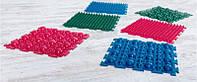 """Коврик массажный резиновый для стоп """"Пазлы"""" 6 шт 26х26 см 1 модульOnhillsport (MS-1209-2)"""
