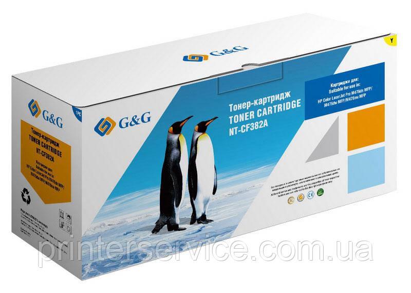 Картридж аналог HP CF382A Yellow для HP M476 (G&G NT-CF382A)