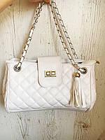 Женская сумка на плечо с кисточкой Уценка, фото 1