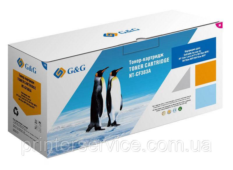 Картридж аналог HP CF383A Magenta для HP M476dn/ m476dw/ m476nw (G&G NT-CF3832A)