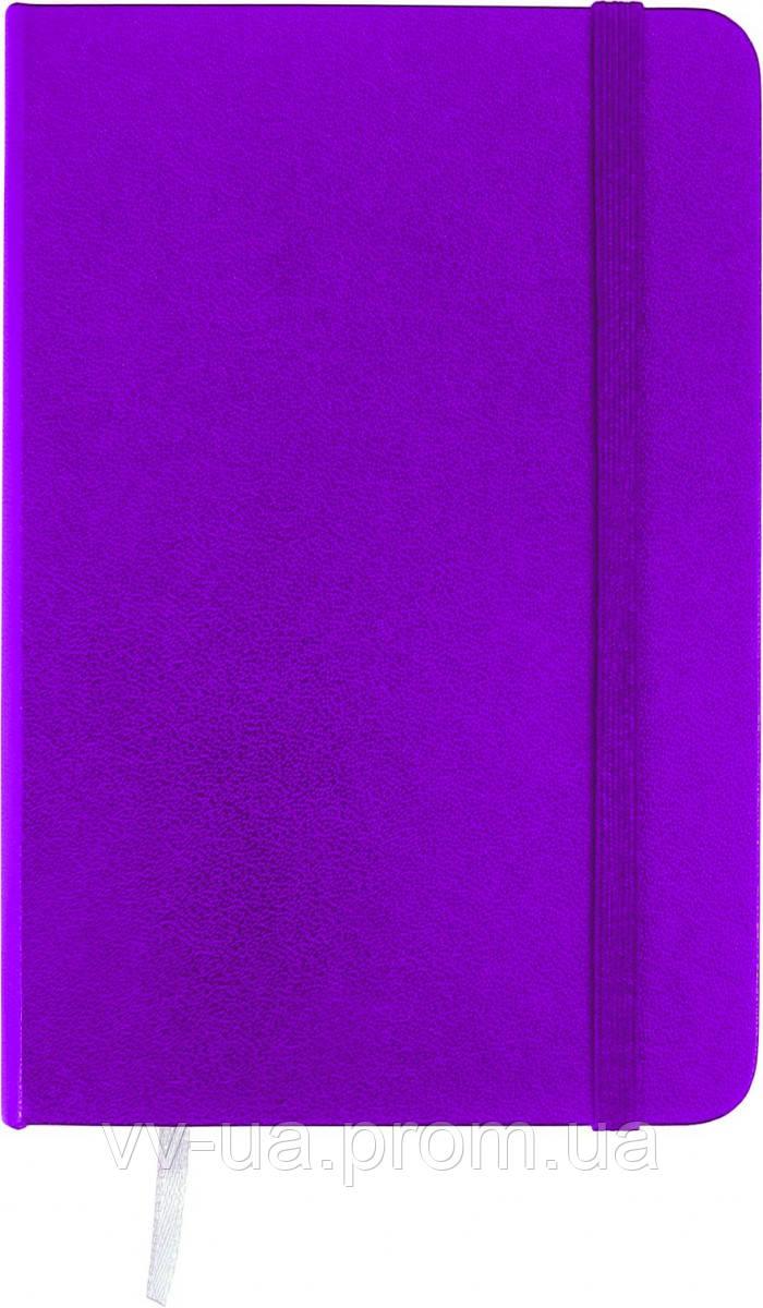 Книга записная Axent Partner, А6, виниловая обложка, 96 листов, клетка, пурпурная (8301-05-A)