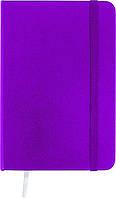 Книга записная Axent Partner, А6, виниловая обложка, 96 листов, клетка, пурпурная (8301-05-A), фото 1