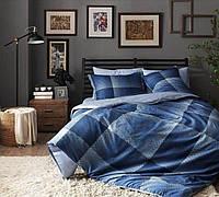 Двуспальное евро постельное белье TAC Tess Сатин-Digital