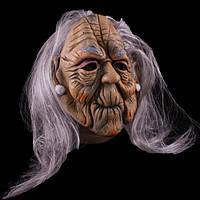 Маска Седая Бабуля с волосами