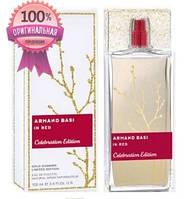 Armand Basi In Red Celebration Edition - edt 100 ml (Оригинал)
