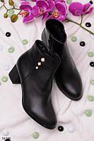Женские ботинки осенние на каблуке 5,5 см эко кожа РАЗНЫЕ МОДЕЛИ