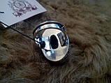 Кольцо хризоколла в серебре. Размер 19,8. Индия!, фото 7