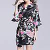 Женский халат с цветочным принтом YAOTING AL8320, фото 3