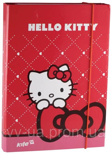 """Папка для тетрадей Kite Hello Kitty, В5 - Интернет-магазин VV.ua розничной сети """"ВиВат, канцелярия!"""" в Киеве"""