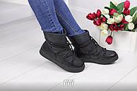 Сапожки зимние в стиле Moon boots