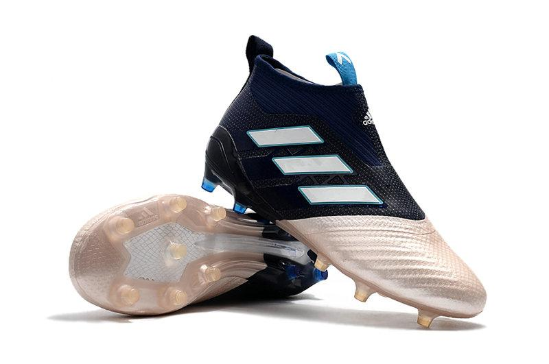 9be84cf0 ... Бутсы Adidas Ace 16+ Purecontrol Blue White Gold с носком, фото 3