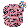 Круглый дорожный органайзер для нижнего белья Monopoly Travel (Pink Leo) реплика