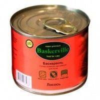 Влажный корм для котов Baskerville Лосось 400 г