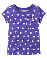 Футболка Carters для девочки 4-8 лет Polka Dot Cat