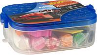 Пластилин Kite Hot Wheels в боксе, 7 цветов + 6 инструментов, HW14-080K
