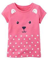 Футболка Carters для девочки 4-8 лет Bear